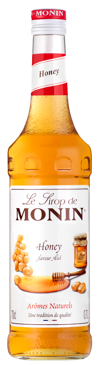 Sirop saveur Miel, Monin (70 cl)