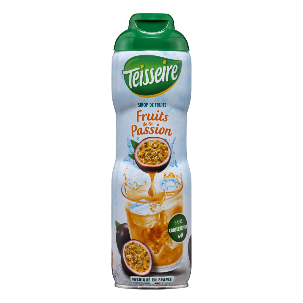 Sirop fruit de la passion, Teisseire (60 cl)