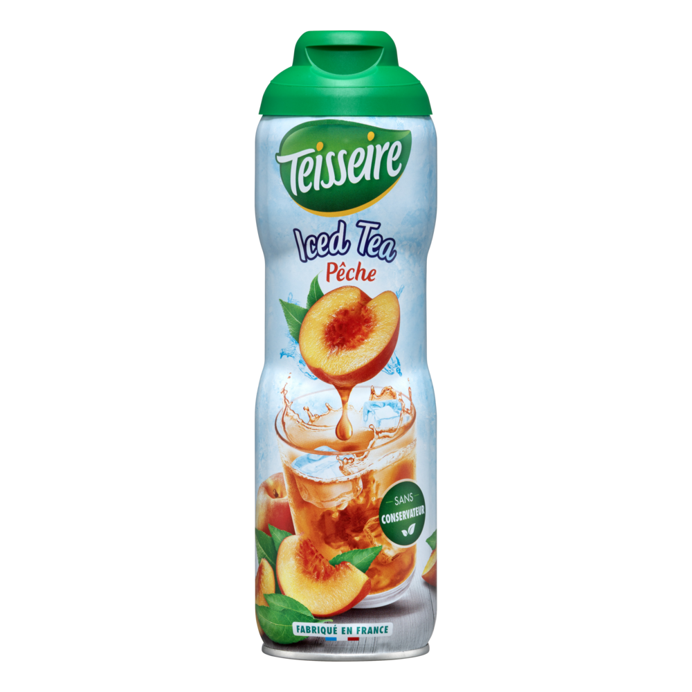 Sirop iced tea pêche, Teisseire (60 cl)