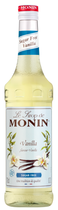 Sirop saveur Vanille (sans sucre), Monin (70 cl)