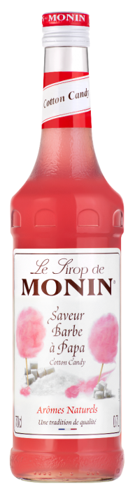 Sirop saveur Barbe à Papa, Monin (70 cl)