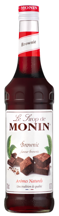 Sirop saveur Brownie, Monin (70 cl)