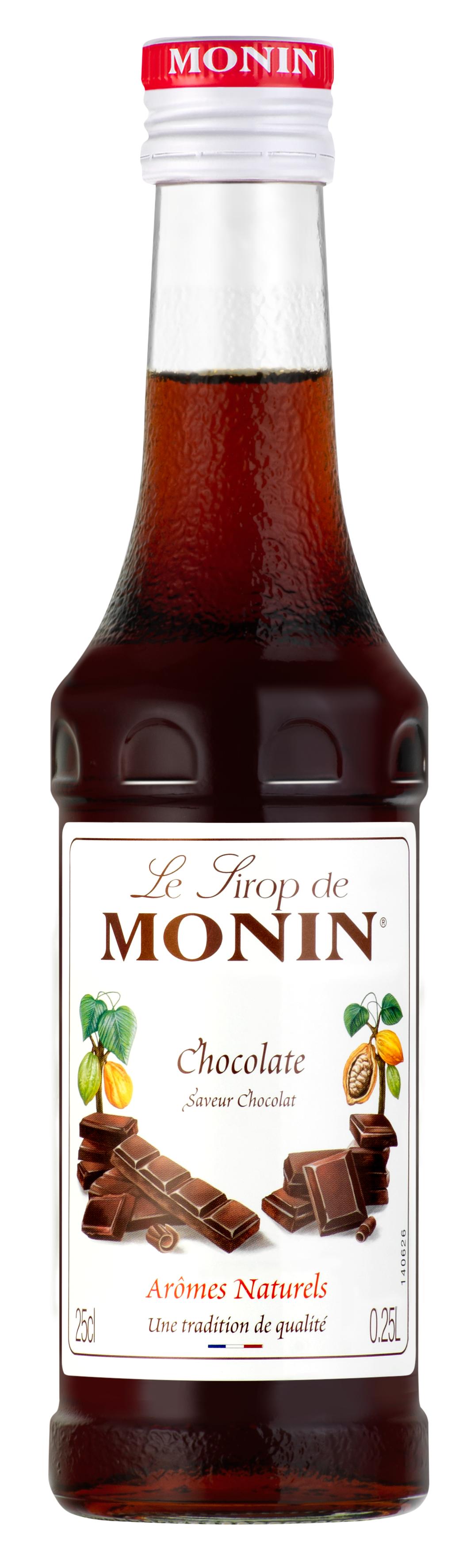 Sirop saveur Chocolat, Monin (25 cl)