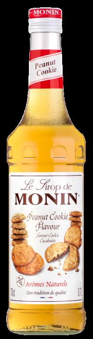 Sirop saveur Cacahuète Cookie, Monin (70 cl)