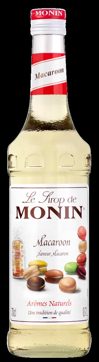 Sirop saveur Macaron, Monin (70 cl)