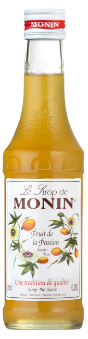 Sirop de Fruit de la Passion, Monin (25 cl)