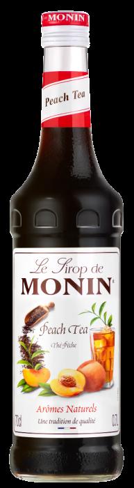 Sirop Thé Pêche, Monin (70 cl)