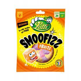 Bonbons Smoofizz aux fruits, Lutti (200 g)