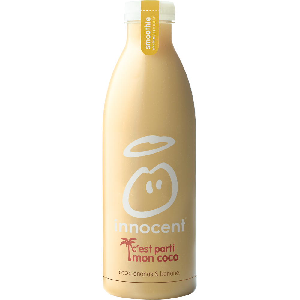 Smoothie ananas banane coco, Innocent (750 ml)