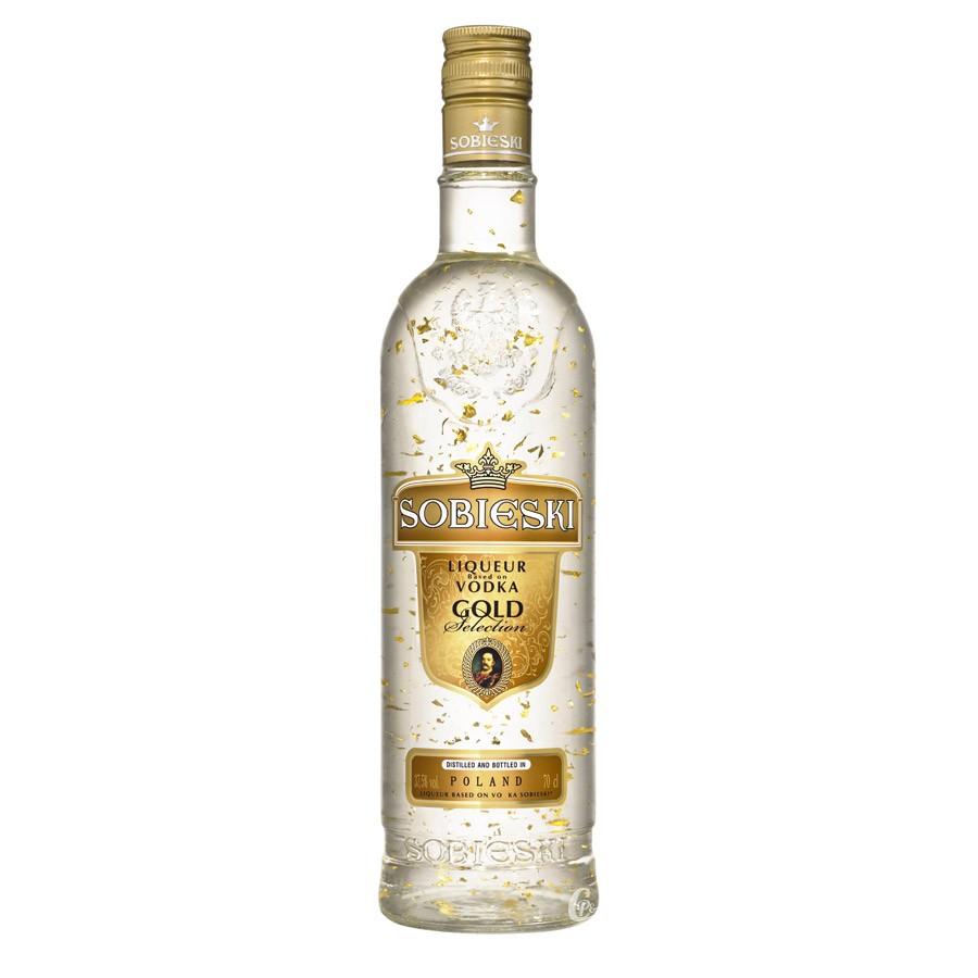 Vodka Sobieski Gold (70 cl)