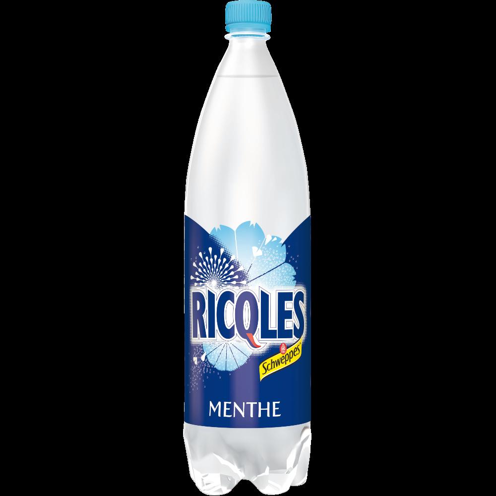 Boisson gazeuse à la menthe, Ricqles (1.5 L)