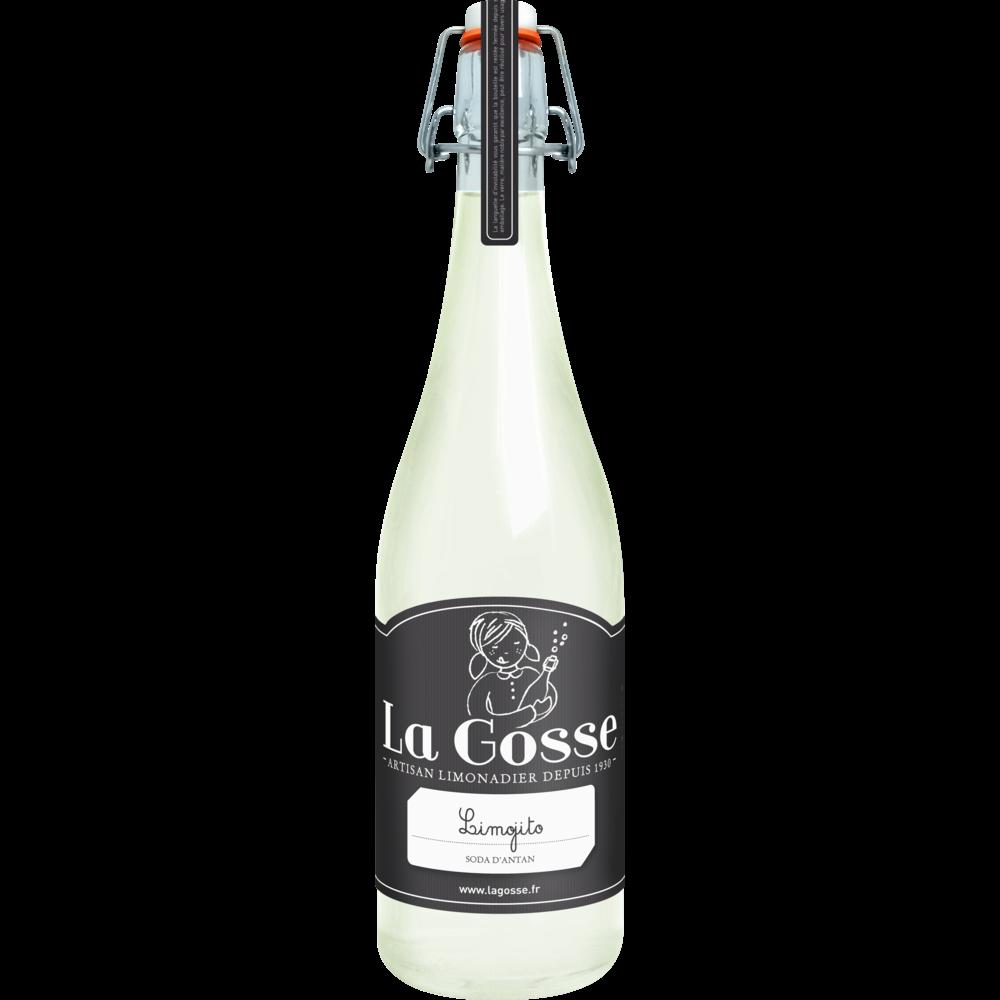 Limonade artisanale saveur mojito, La Gosse (75 cl)