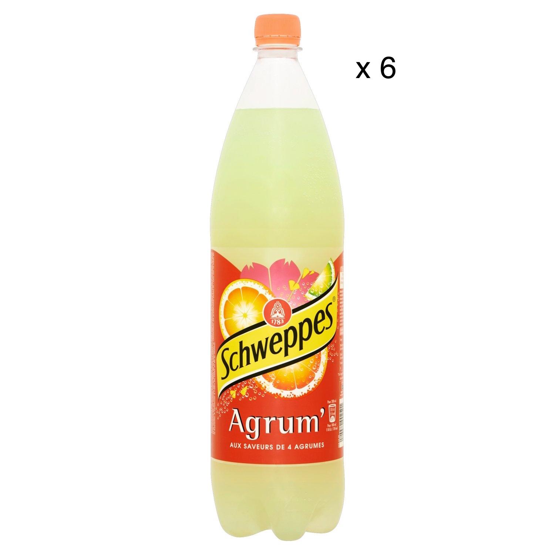 Schweppes Agrum' (6 x 1,5 L)