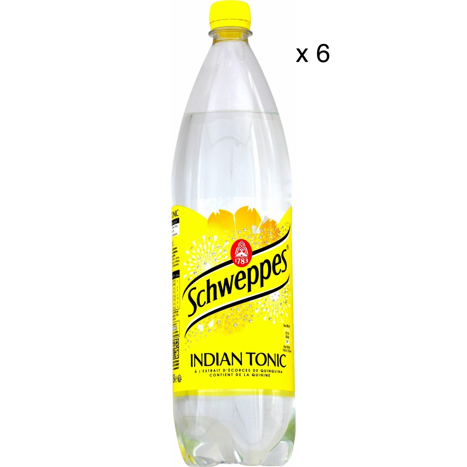 Schweppes Indian Tonic (6 x 1,5 L)