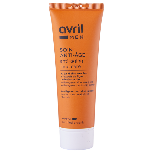 Soin anti-âge homme certifié BIO, Avril (50 ml)