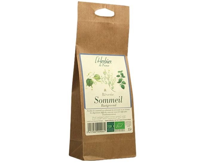 Mélange de plantes Sommeil Rêverie BIO, Herbier de France (35 g)