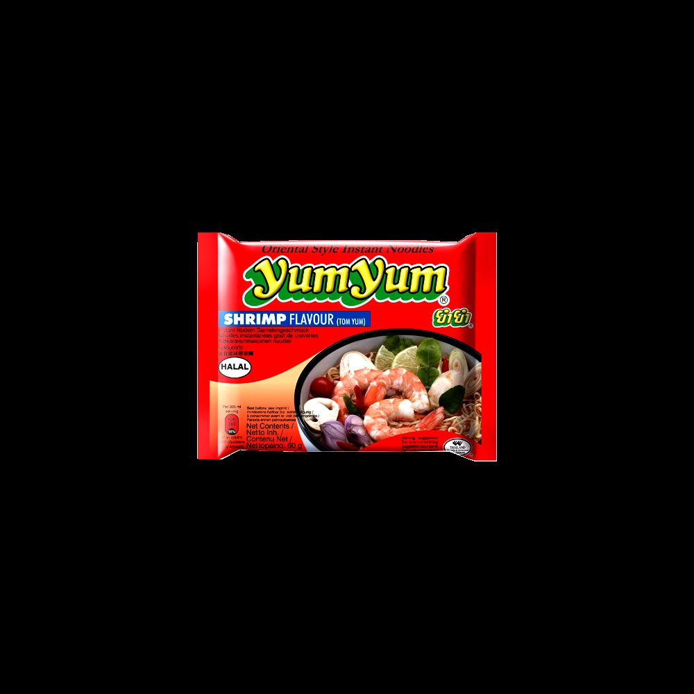 Soupe de nouilles arôme crevettes, Yum Yum (60 g)