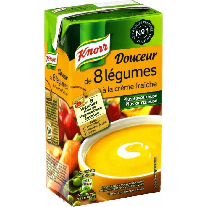Douceur de 8 légumes, Knorr (50 cl)