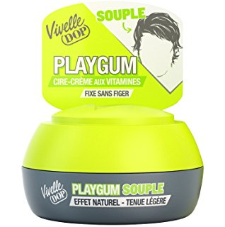 Pot de cire Playgum souple, Vivelle Dop (80 ml)