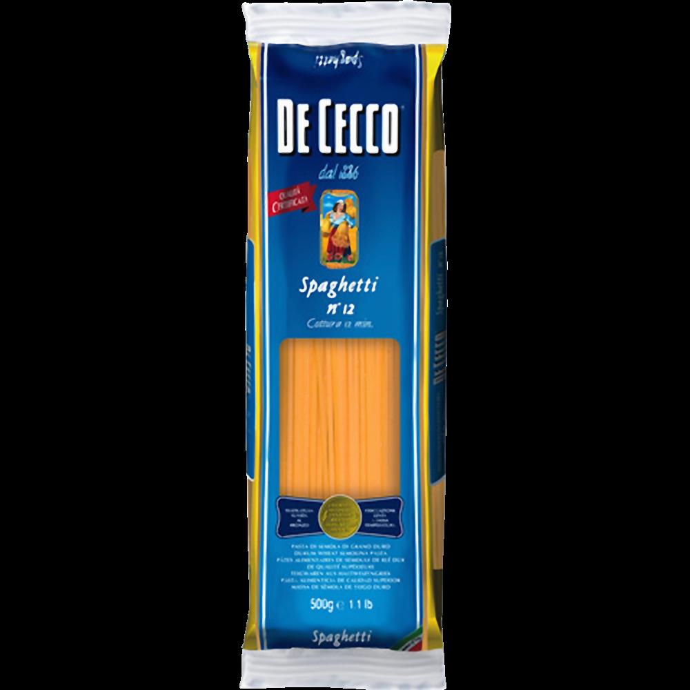 Spaghetti n°12, De Cecco (500 g)