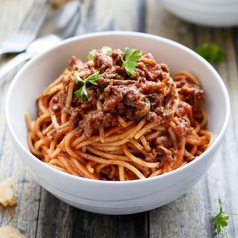 Véritables spaghetti bolognaise maison