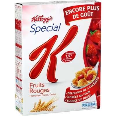 Spécial K aux fruits rouges, Kellogg's (300 g)