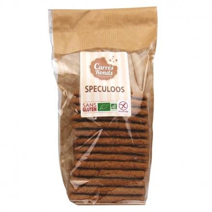 Spéculoos sans gluten BIO, Carrés Ronds (135 g)