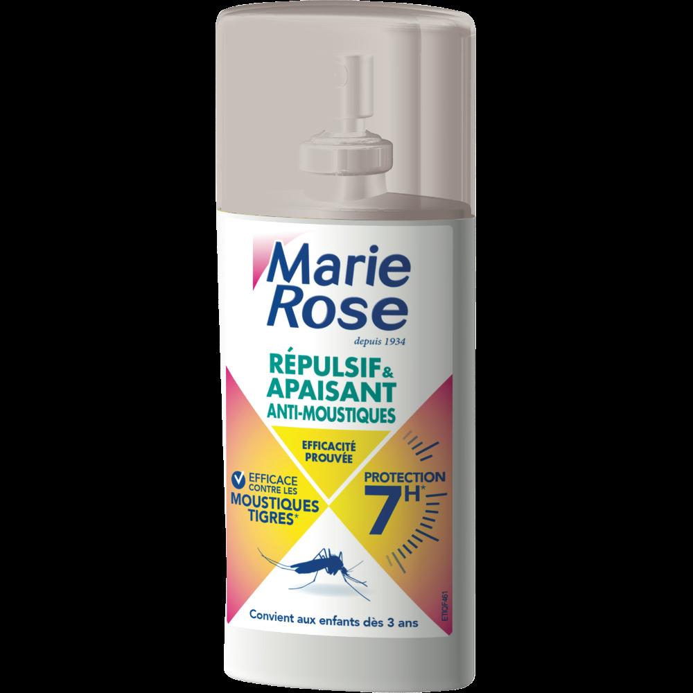 Spray 2 en 1 répulsif et apaisant, Marie Rose (100 ml)