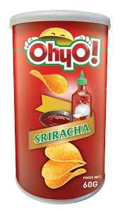 Chips saveur sriracha, Ohyo! (60 g)