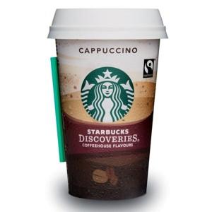Cappuccino, Starbucks (220 ml, cup)