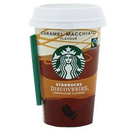 Caramel macchiato, Starbucks (220 ml, cup)