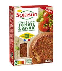 Steaks soja tomate basilic, Sojasun (x 2, 200 g)