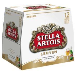 Pack de Stella Artois, 5° (12 x 25 cl)