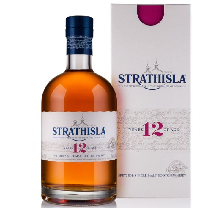 Whisky Strathisla 12 ans d'âge (70 cl)