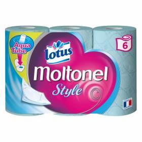 Papier toilette moltonel style, Lotus (x 6)