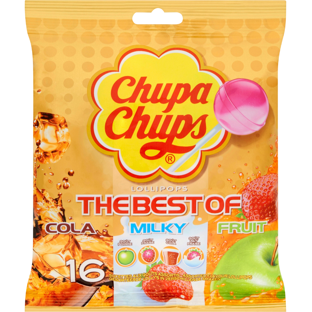 Sucettes Best Of, Chupa Chups (192 g)