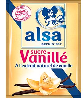 Sucre vanillé, Alsa (6 x 7.5 g)