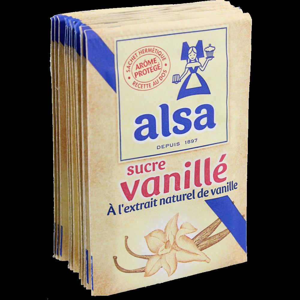 Sucre vanillé, Alsa (x 12 sachets, soit 90 g)
