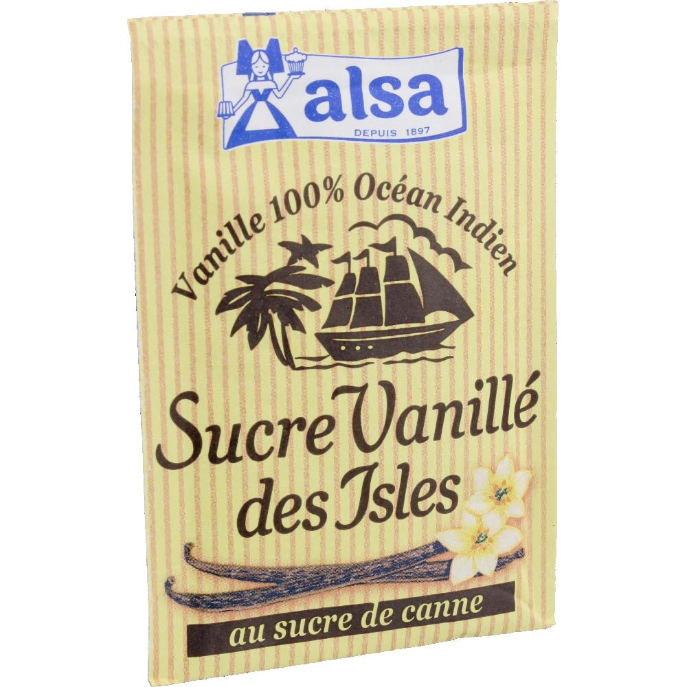 Sucre vanillé des Isles, Alsa (x 7 sachets, soit 53 g)