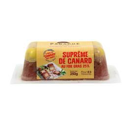 Suprême de canard au foie gras, Panache des Landes (250 g)