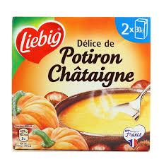 Soupe délice de potiron châtaigne, Liebig (2 x 30 cl)