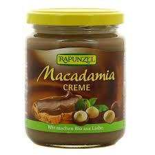 Pâte à tartiner noix de Macadamia BIO, Rapunzel (250 g)