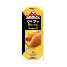 Hot dog moutarde, Charal (120 g)