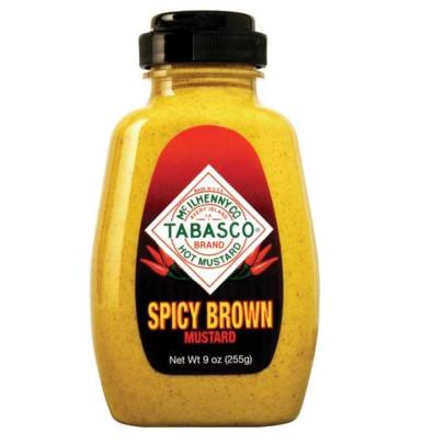 Moutarde brune épicée, Tabasco  (255 g)