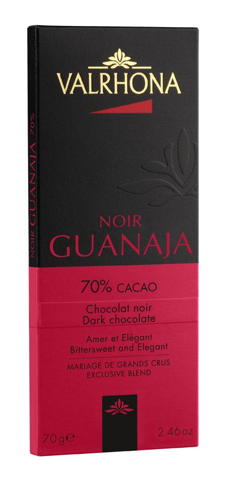 Tablette de chocolat noir Guanaja 70%, Valrhona (70 g)
