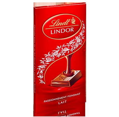 Chocolat au lait Lindor, Lindt (150 g)