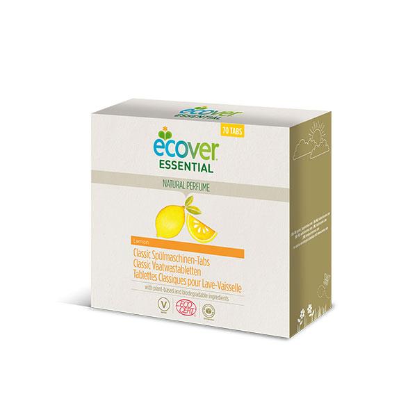 Tablettes lave-vaisselle XL, Ecover  (x 70 tablettes, 1.4 kg)