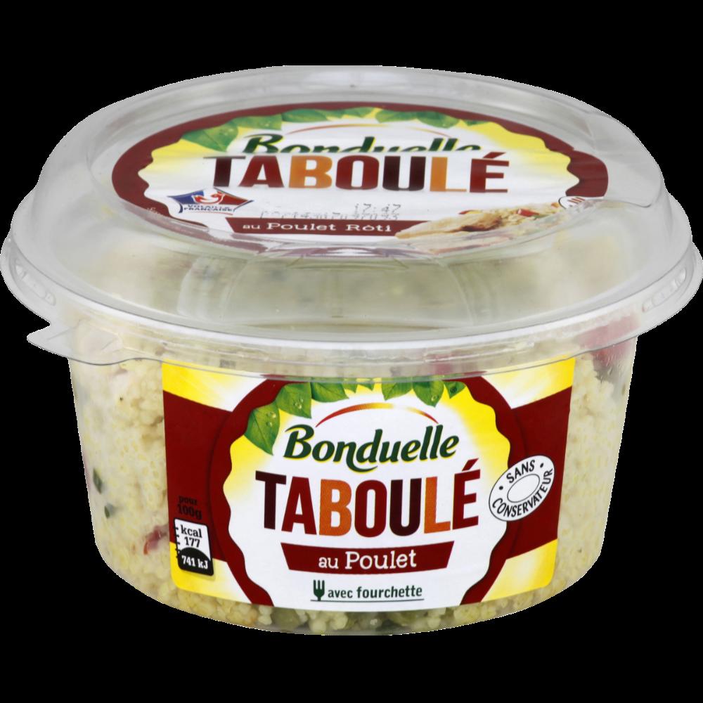 Taboulé au poulet rôti, Bonduelle (180 g)