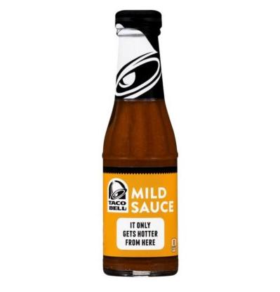 Sauce épicée douce - mild, Taco Bell (213 ml)