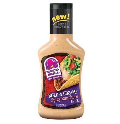 Sauce ranchero épicée, Taco Bell (237 ml)